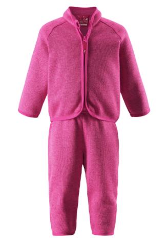 Reima Tahto 516220-4670 Hot Pink fleecesett