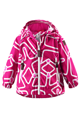 Reimatec Tepastele 511151-4691 Cerise Pink vår/høstjakke