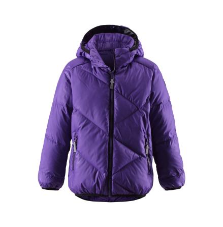 Reima Sibling 531157-5910 Purple Pansy vendbar dunjakke