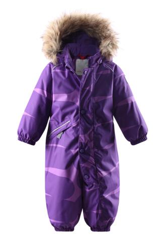 Reimatec Knoppi 510195F-5918 Purple Pansy vinterdress