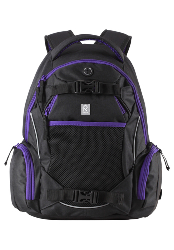 Reima Reissu 599145-9990A Black backpack