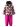 Reimatec Saturnus 513075-3921 Cherry sett jakke/bukse vinter