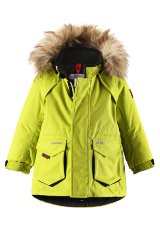 ReimaTec Alzir 511129-8390 Yellow Lime vinterjakke