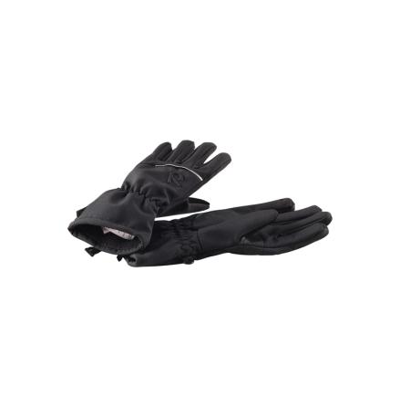 Reima Eriste 527224-9990 Black softshell hansker