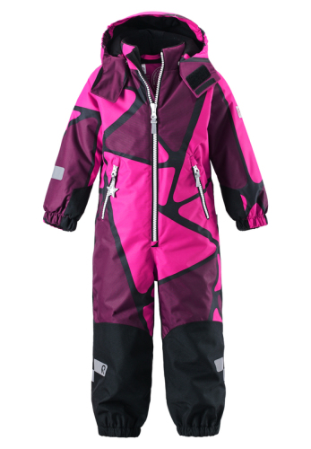 Reima Kiddo Kiila 520184D-4629 Pink vinterdress