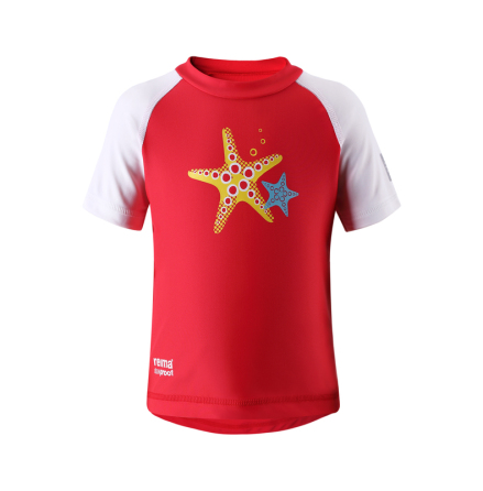 Reima Azores 581014-3710 Flame Red uv t-shirt