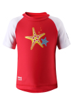 Reima Azores 581014-3710 Flame Red uv t-shirt