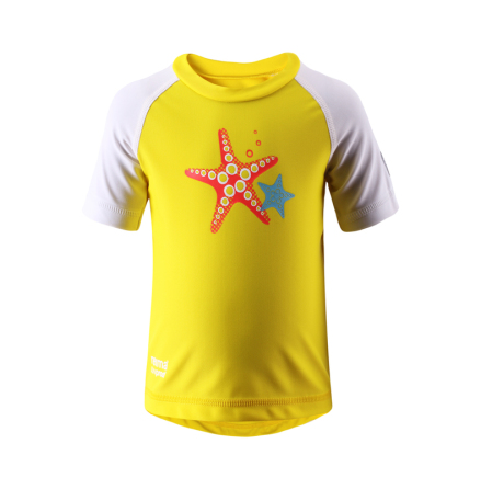 Reima Azores 581014-2350 Yellow uv t-shirt