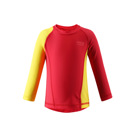 Reima Borneo 581015-3710 Flame Red uv shirt