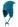 Reima Delphinus 518250-7890 Dark Turquoise lue