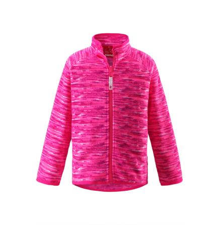 Reima Hazelnut 536089A-3425 Supreme Pink fleecejakke