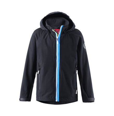 Reima Sitron 531207-9990 Black softshell Jacket