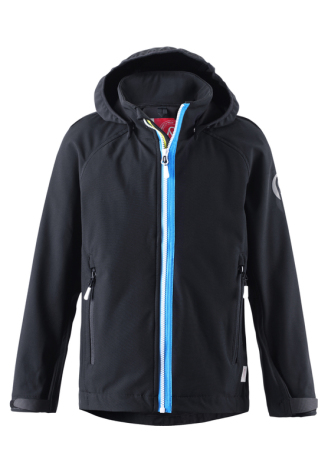 Reima Sitron 531207-9990 Black softshell Jacket