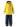 Reima Joki 523094-2350 Yellow regnsett m/fleecefór