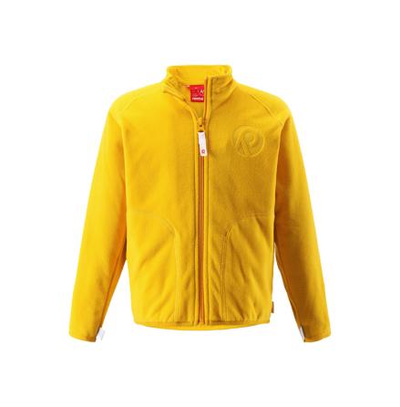 Reima Inrun 526235-2320 Yellow fleecejakke