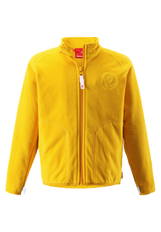 Reima Inrun 526235-2320 Yellow fleecejakke