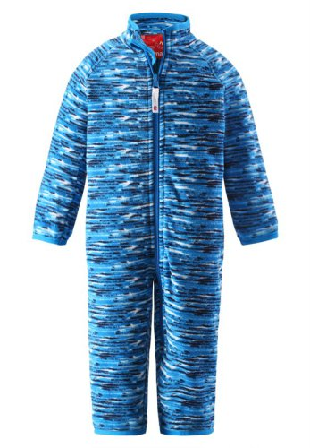 Reima Guacamole 516244-7471 Ocean Blue fleece dress