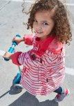 Reimatec Kimalle 521486-3366 Strawberry Red vår/høstjakke
