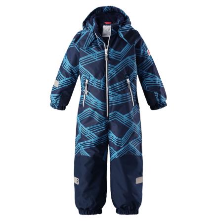 Reimatec Kiddo Snowy 520205B-6493 Blue vinterdress