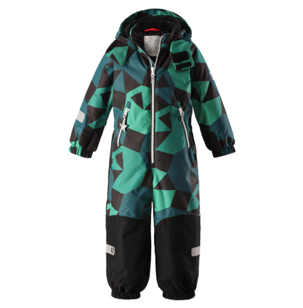 Reimatec Kiddo Snowy 520205B-8867 Green vinterdress
