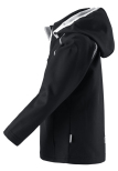 Reima Vantti 521503-9990 Black softshelljakke