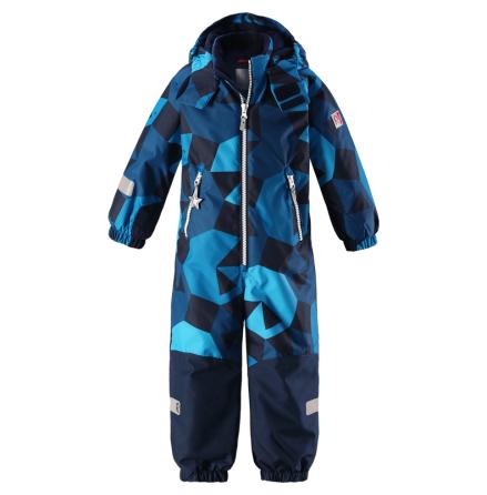 Reimatec Kiddo Snowy 520205B-6494 Blue vinterdress