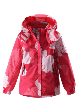 Reimatec Tuuli 521488-3364 Strawberry Red vår/høstjakke