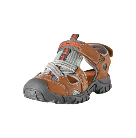 Reima Rigger 569306-1480 Leather Brown sandaler