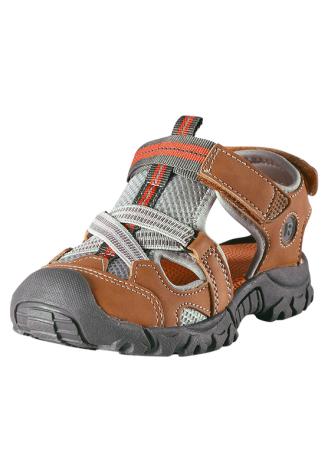 Reima Rigger 569306-1480 Leather Brown sandaler