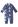 Reima Sokeri 516280-6551 Denim Blue pysjamas
