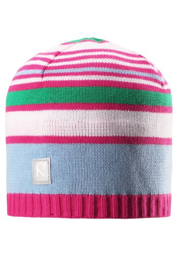 Reima Datoline 528510-462A Pink med striper lue