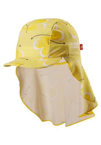 Reima Octopus 518458-2333 Yellow uv-solhatt
