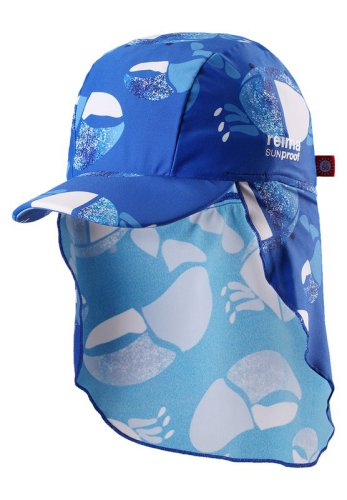 Reima Turtle 518459-6643 Blue uv-solhatt