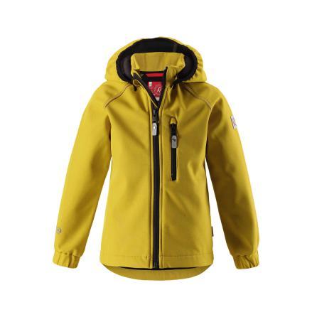 Reima Vantti 521519-2460 Dark Yellow softshelljakke