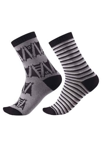 Reima Strum 527270-9400 Melange Grey 2 pk sokker