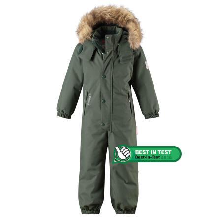 Reimatec Stavanger 520237-8630 Green vinterdress