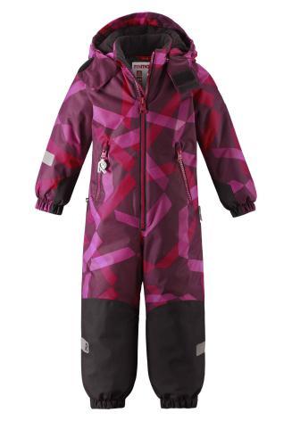 Reimatec Kiddo Snowy 520225B-3608 Cranberry Pink vinterdress
