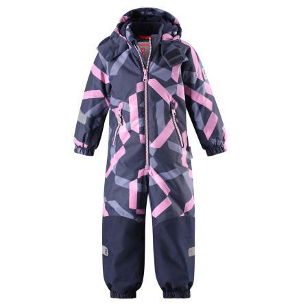 Reimatec Kiddo Snowy 520225B-5188 Heather Pink vinterdress