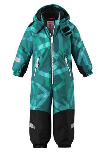 Reimatec Kiddo Snowy 520225B-8881 Green vinterdress