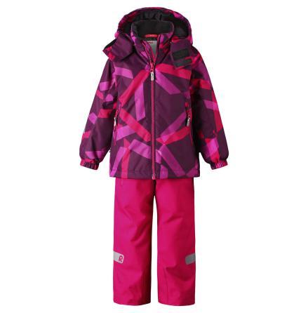 Reimatec Maunu 523121-3608 Cranberry Pink vintersett jakke/bukse