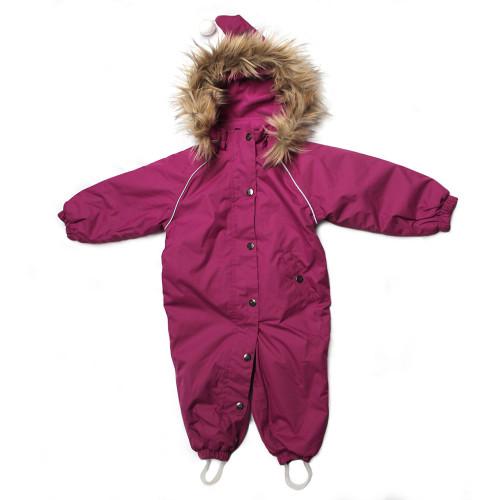 Troll Collection Solid Toddler 10078320 Magneta vinterdress