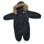 Troll Collection Solid Toddler 10078320 Navy vinterdress