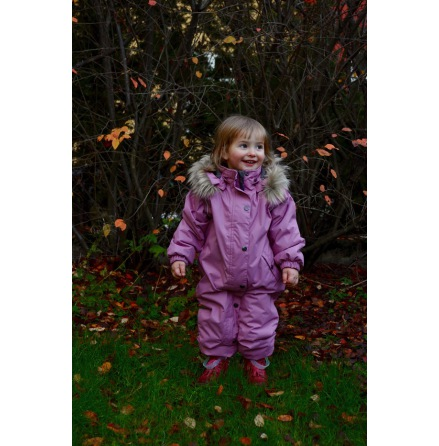 Troll Collection Solid Toddler 10078320 Pink vinterdress