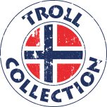Troll Collection Solid 20078320 Magneta vinterdress