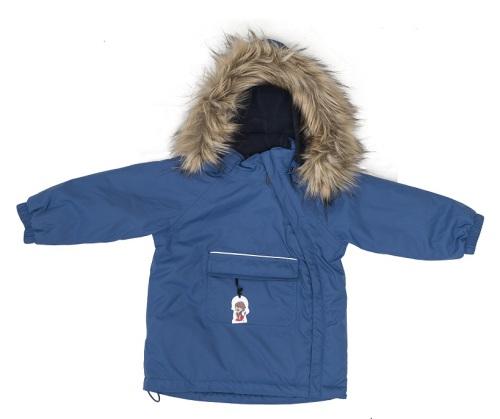 Troll Collection Solid Jacket Toddler 10078120 Blue vinterjakke