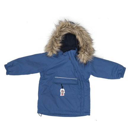Troll Collection Solid Jacket Toddler 10078120 Blue vinterjakke