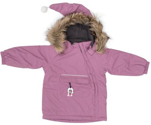 Troll Collection Solid Jacket Toddler 10078120 Pink vinterjakke