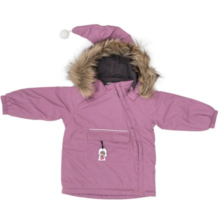 Troll Collection Solid Jacket Toddler 10078120 Pink vinterjakke