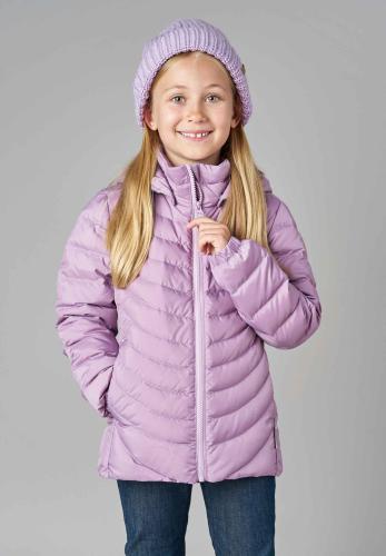 Reima Fern 531340-5180 Heather Pink tynn dunjakke