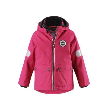 Reimatec Seiland 521559-3600 Cranberry Pink 3 in 1 vår/høst/vinterjakke